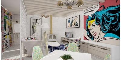 Design interior cool urban chic