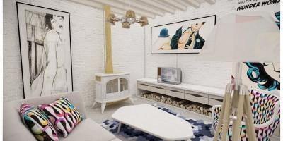 Amenajari interioare spatiu de creatie, atelier fotograf