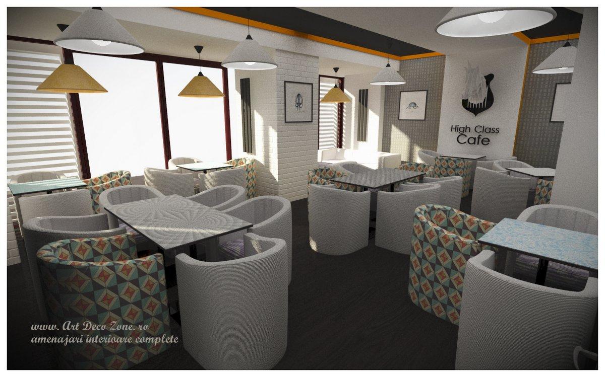 Re-design pentru cafeneaua High Class – Alba Iulia, Decebal
