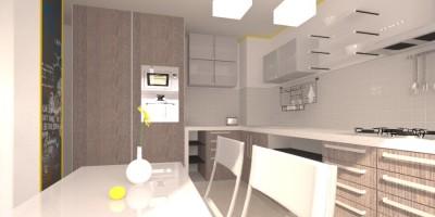 Bucatarie proiect 3D