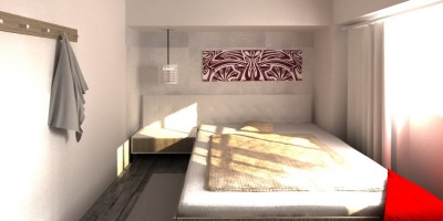 Dormitor matrimonial design interior