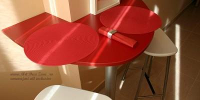 masuta de bucatarie, solutie pentru spatii mici