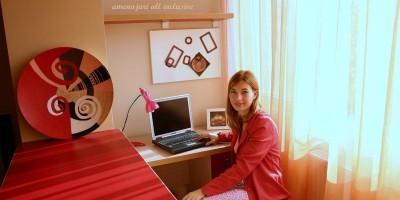 Irina Constantin, designer de interior pentru firma de amenajari all inclusive Art Deco Zone - Apartament la cheie