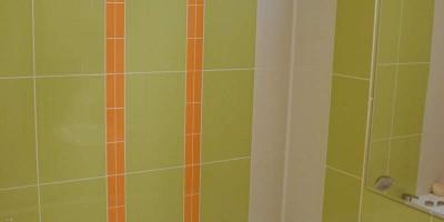 baie verde cu oranj, culori vesele